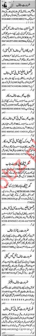 Male & Female Staff Jobs Career Opportunity in Multan 2018