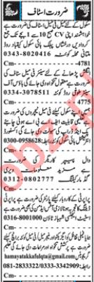 Principal & Teacher Jobs 2018 in Quetta