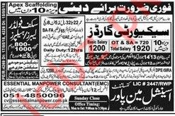 Security Guards Jobs Opportunity in UAE