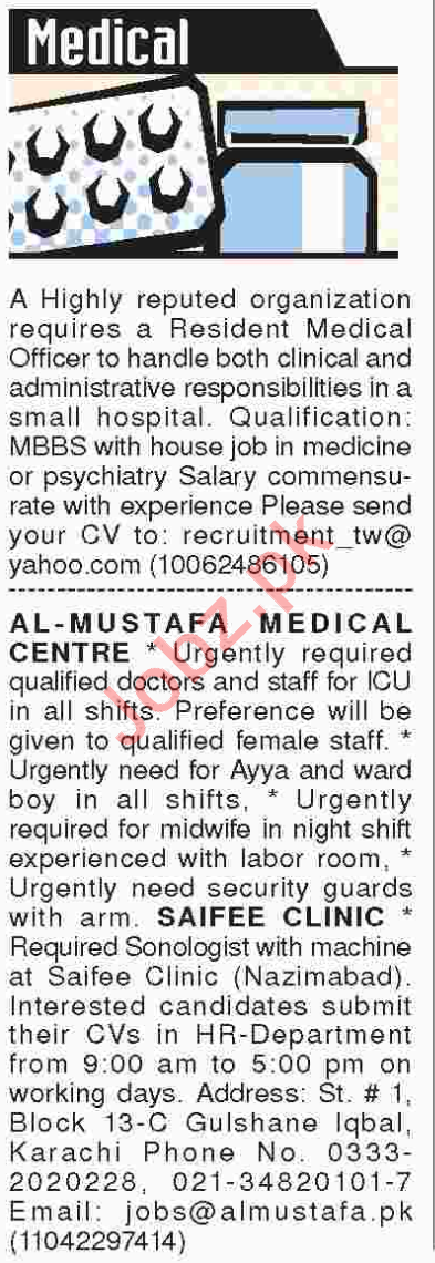 Paramedical & Staff Nurse Jobs 2018