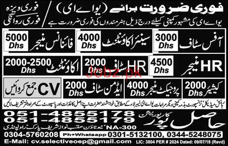 Senior Accountant, Finance Manager Job Opportunity