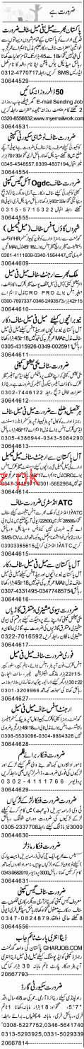 Telephone Operators, Accountant, Office Boys Wanted
