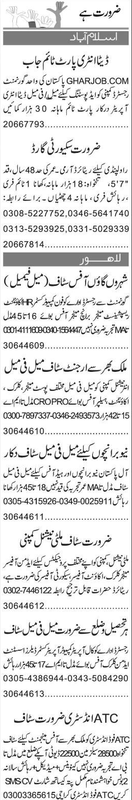 Data Entry Operators, Branch Manager  Job Opportunity