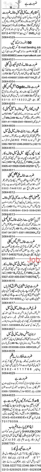 Branch Manager, Accountant, Office Boys Job Opportunity