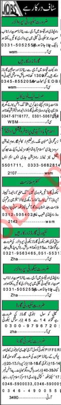 Daily Khabrain Newspaper Classified Ads 2018