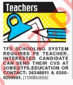 Principal & Teachers Jobs 2018 in Karachi