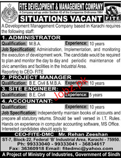 FITE Development & Management Company Jobs