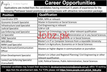 Coordinator DTR, Judicial Specialists Job Opportunity