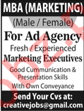 Marketing Executives for Ad Agency