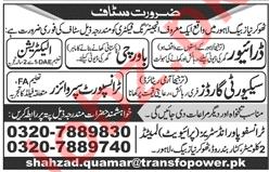 Drivers for Transfo Power Industries Ltd