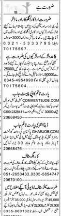 Data Entry Operators, Security Guards,  Assistants   Wanted