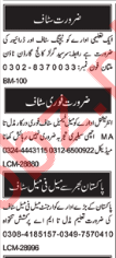Daily Nawa-e-waqt Newspaper Classified Jobs 2018 in Multan