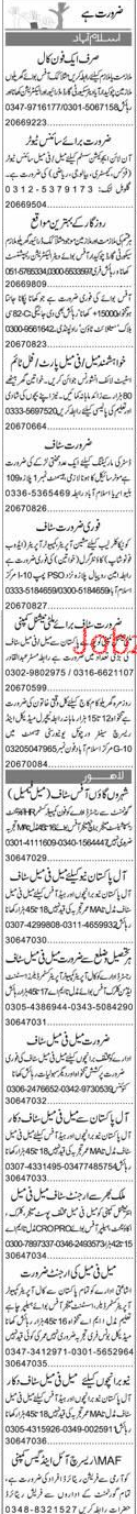 LTV Drivers, Cooks, Chawkidars, Security Guards Wanted