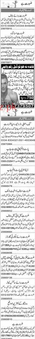 Male / Female Teachers, Computer Operators Wanted