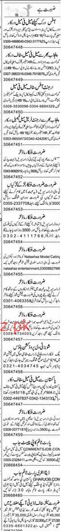 Call Operators, Admin Manager, Supervisors, Clerks Wanted