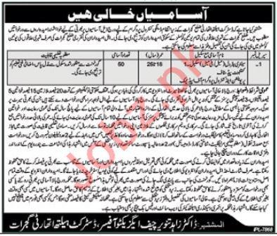 District Health Authority DHA Gujrat Jobs 2018
