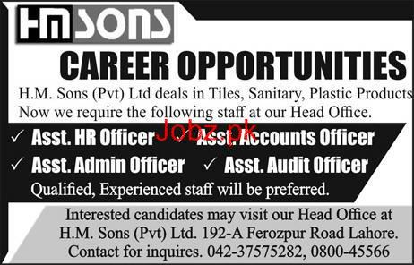 Assistant HR Officers, Assistant Account Officer Wanted