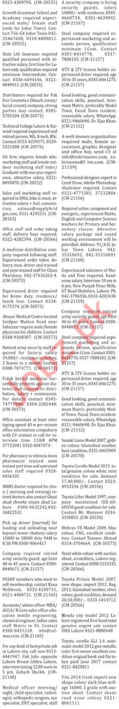 The Nation Newspaper Classified Jobs 2018 In Karachi