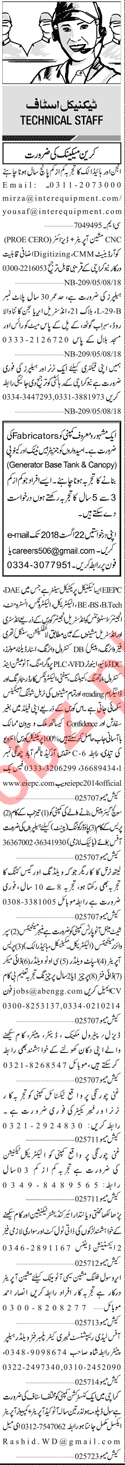 Technical Staff Jobs Career Opportunity