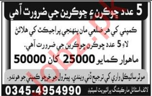 Lifestyle Marketing Karachi Jobs 2018