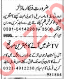 Actors & Models Jobs 2018 For Media Sector In Lahore