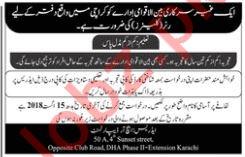 Cleaner Jobs Open 2018 in Karachi