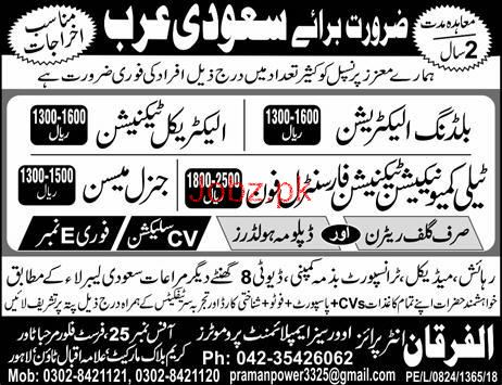 Building Electricians, Electrical Technician Job Opportunity