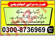 Electrician Job 2018 in Multan