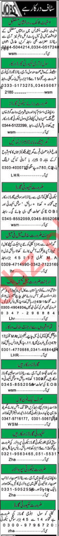 Khabrain Newspaper Classified Ads 2018 For Islamabad