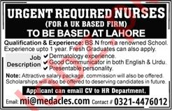 Nurses for Medacles Ltd