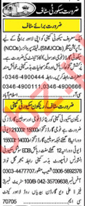 Security Supervisor & Security Guards Jobs 2018