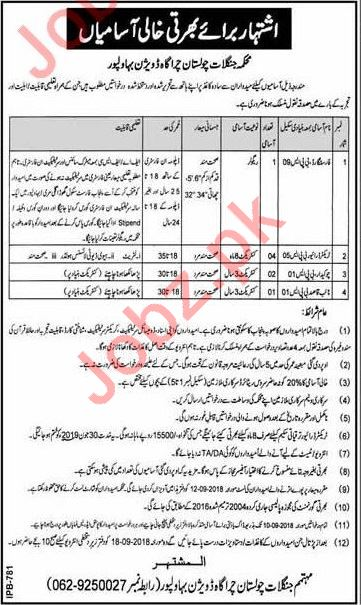 Jobs at Forest Department Cholistan