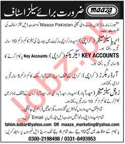 Sales Jobs 2018 in Karachi