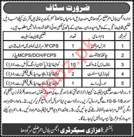 Pak Red Crescent Job Opportunities