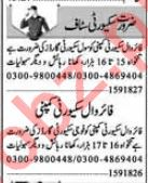 Security Guards & Security Supervisor Jobs 2018