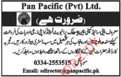 Pan Pacific Private Limited Sales Staff Jobs 2018