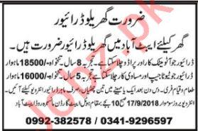 LTV & HTV Driver Jobs Opportunity in Abbottabad
