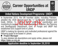 United Nations Development Programs UNDP Jobs