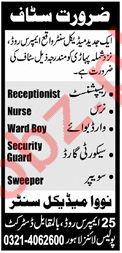 Receptionist for Nova Medical Centre