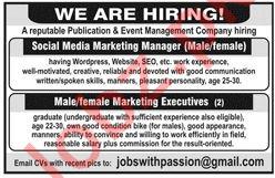 Social Media Marketing Manager Jobs