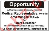 Medical Representative Jobs 2018 in Abbottabad
