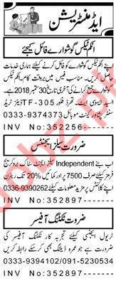 Sales Agents & Ticketing Officer Jobs 2018