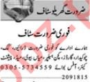 House Staff Lahore Jobs 2018