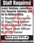 Iconic Solutions Student Counselor Jobs