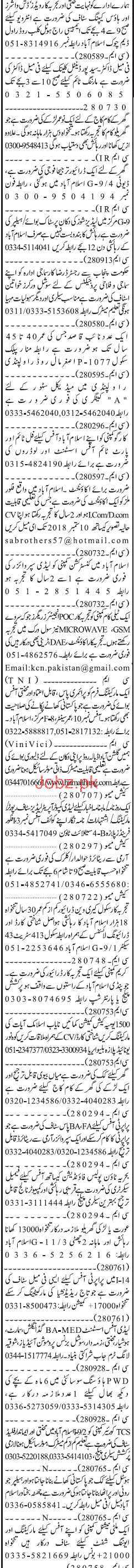 Accountant, Office Boys, Assistant, Driver Job Opportunity