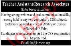 Teacher Assistant for KIPS College