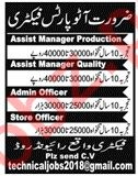 Assistant Manager Production Jobs