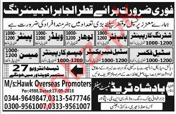 Al Jabir Engineering Company Labors Jobs 2018