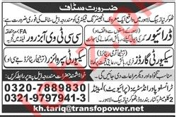 Transfopower Industries Pvt Ltd Driver Jobs