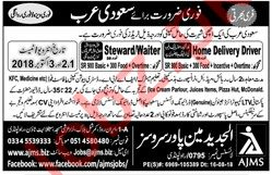Al Jadeed Main Power Service Home Delivery Driver Jobs